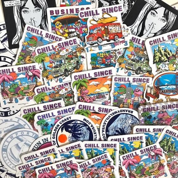 Brandy Melville Sticker Bundle